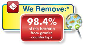 remove bacteria from granite chemdry