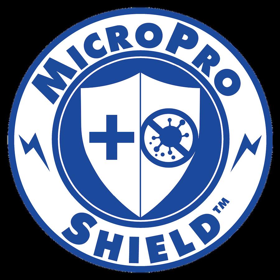 the MicroPRO shield logo