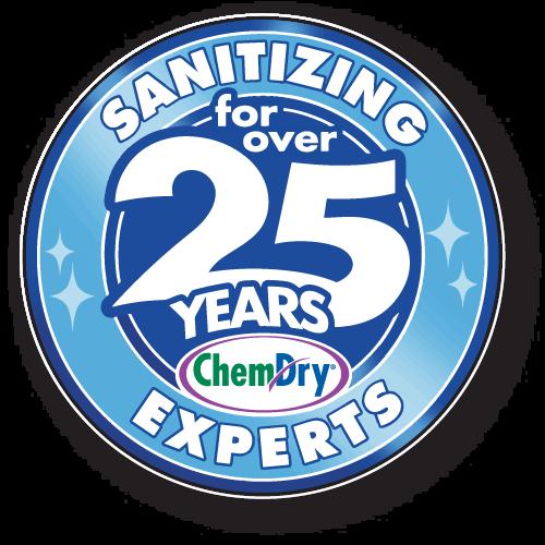 the Jacksonville sanitizing experts logo